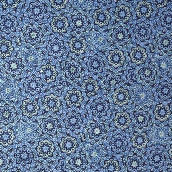Moroccan Tile Design Cotton Lawn